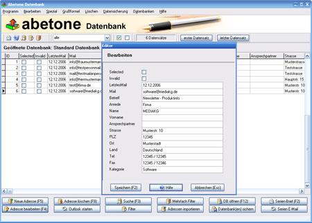 Abetone-Datenbank