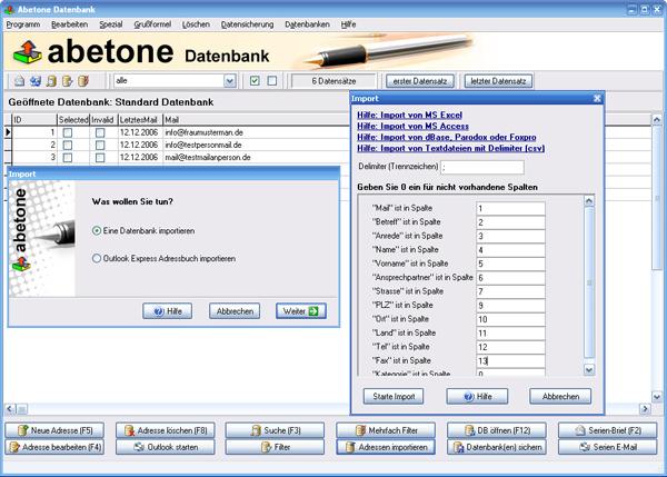 datenbank software datenbank programm. Black Bedroom Furniture Sets. Home Design Ideas