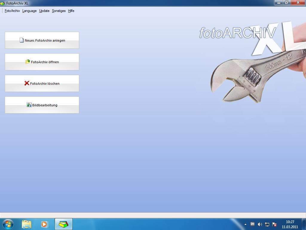 Fotoarchiv XL screenshot
