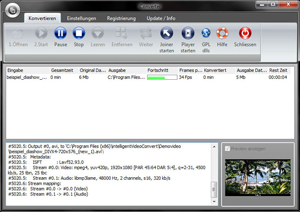 Click to view intelligent Video Convert 1.0.7 screenshot