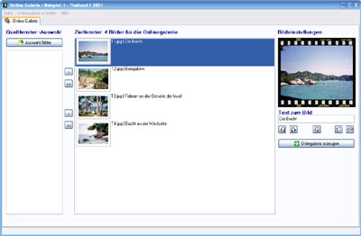 Click to view OnlineGalerie Pro screenshots